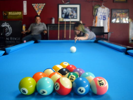 Owners of Visalia City Billiards, Stefan Canales and