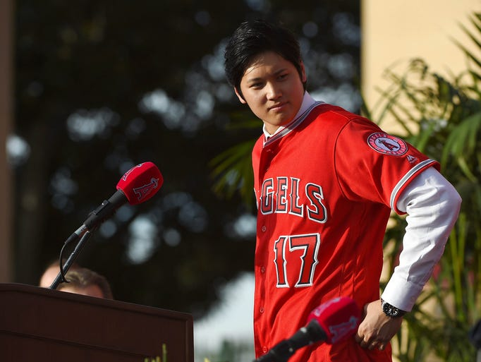 1. Shohei Ohtani, RHP/DH, Angels