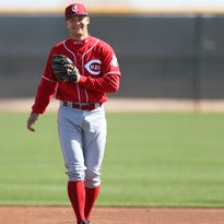 Cincinnati Reds sent top prospect Nick Senzel down, the question is for how long