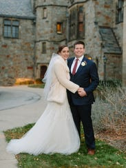 Anna and Conor Squiers' held their wedding reception