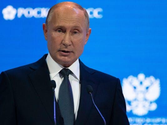 Putin Tells Trump to Blame Guy in the Mirror for High Oil Prices