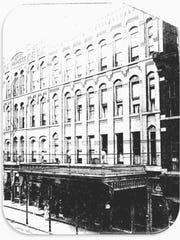 The 1877 Hotel Bennett, on Washington Street in Binghamton,