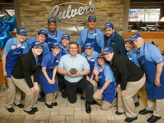 Culver's of Neenah was recognized for outstanding,