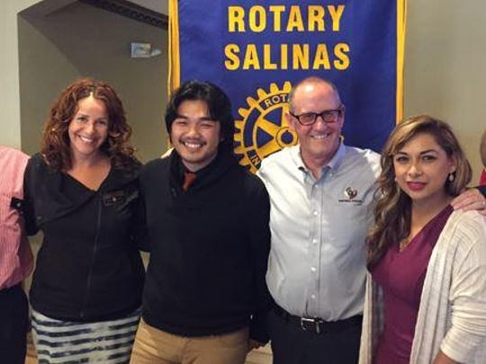 The Salinas Steinbeck Rotary Club has awarded a total of $5,400 in scholarships to students at Everett Alvarez High School.
