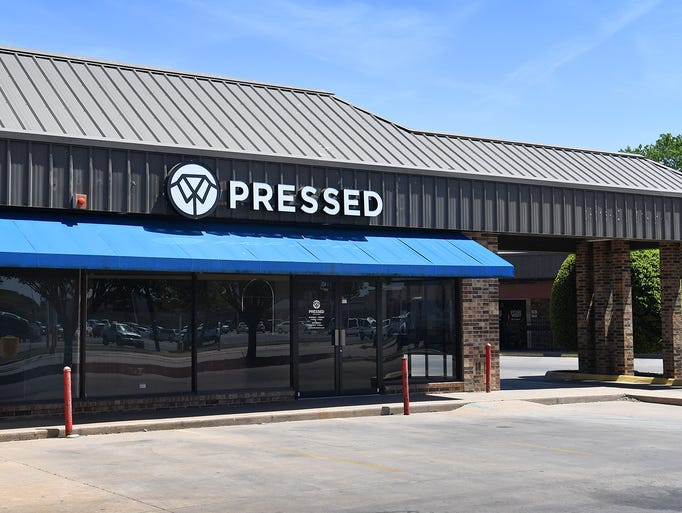 The Pressed cleaners location at 2731 Southwest Parkway,