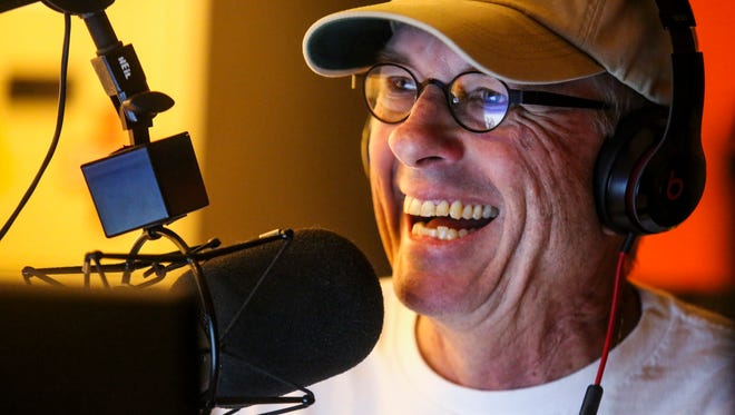 'Reel Talk Radio' host Rob Modys does his radio show Saturday morning. Modys, 62, a fisherman and long-time fishing guide, hosts the three-hour show on 99.3 FM. ItÕs so popular, only half his audience fishes, heÕs been told by his bosses at Beasley Broadcasting. Multiple myeloma almost silenced Modys. He's now in recovery.