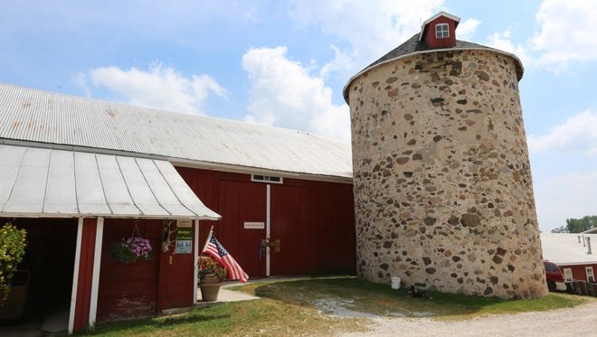 The Chautauqua and Barn Dance will be held at the historic Saxon Homestead Farm (pictured) in Cleveland.