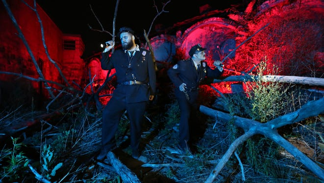 Philadelphia's Terror Behind the Walls at Eastern State Penitentiary opened two weeks ago and runs through Nov. 11.