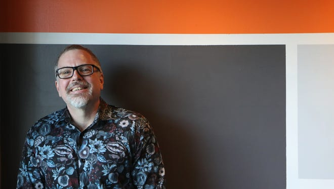 """Tallahassee novelist Jeff VanderMeer, whose book """"Annihilation"""" was made into a movie by Paramount, is literally going to the birds at Word of South."""