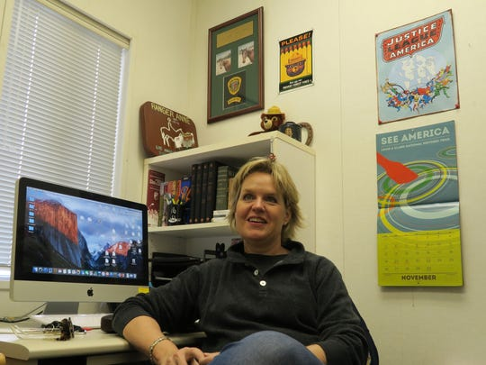 Professor Anne Redding, a Camarillo resident who chairs