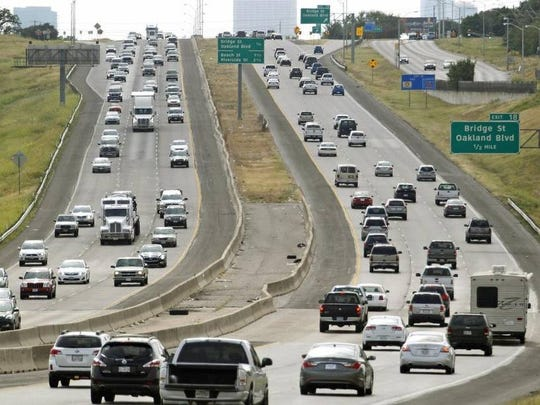 North Texas traffic