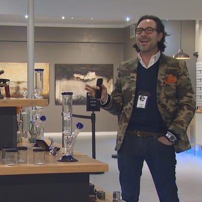 The Gallery in Parkland mixes art and marijuana.