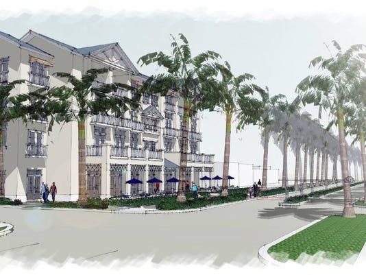 Bonita Springs downtown development rendering 4