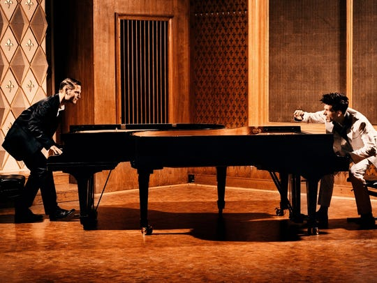 Well-known pianists Andreas Kern and Paul Cibis perform