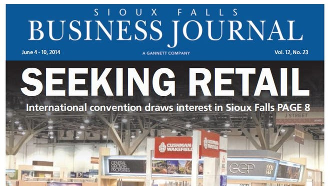 The June 4, 2014 cover of the Sioux Falls Business Journal