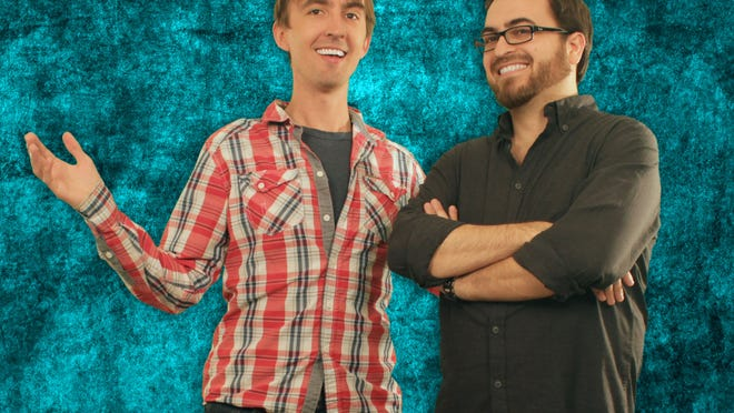 """Marlboro natives Alan Denton and Greg Hahn took their love of animation and video games to new heights when they started writing for Sega's """"Sonic Boom"""" on Cartoon Network."""
