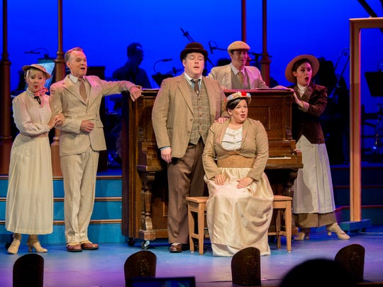 """Cast members of """"I Love A Piano"""" at Totem Pole Playhouse"""