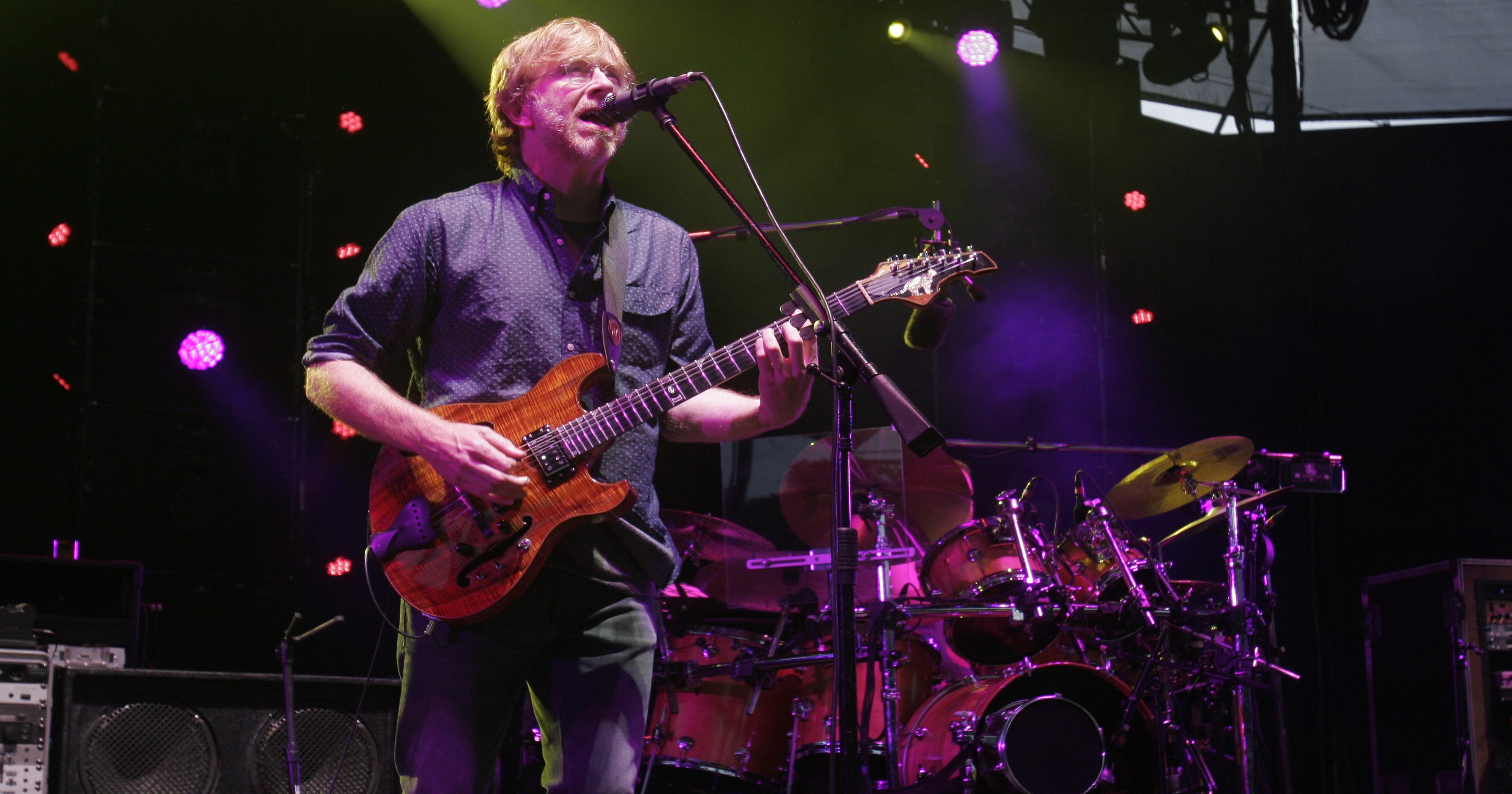 Phish playing three July shows at historic Alpine Valley