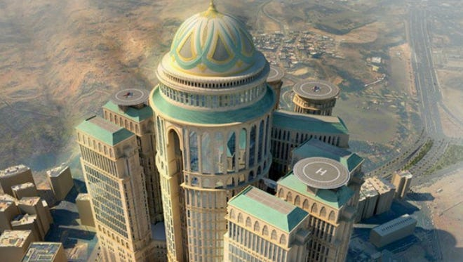 If size does indeed matter for you, start planning your trip to Mecca, Saudi Arabia (Muslims only) for 2017, when the world's largest hotel is set to open.