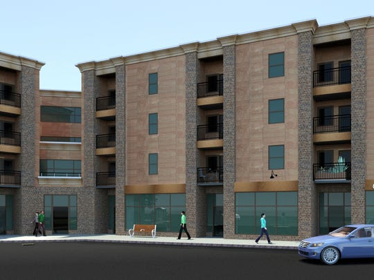 An architectural rendering of the proposed $11 million