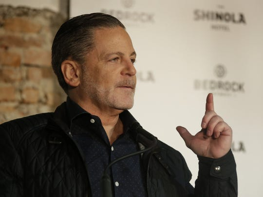 Founder and Chairman of Quicken Loans Dan Gilbert speaks