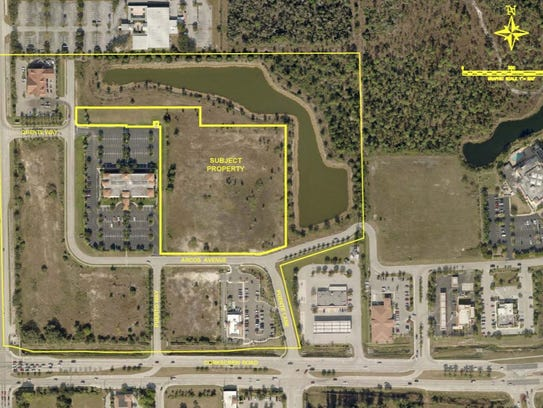 An aerial rendering of the Phoenix at Estero assisted