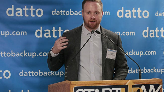 Austin McChord, founder and CEO of Datto Inc., and 2009 RIT graduate will deliver the university's 2017 commencement address.