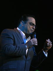 Spend Valentine's Day with Gilberto Santa Rosa at Westchester County Center.