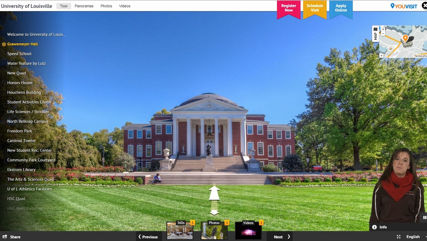 UofL offers virtual tour of campus