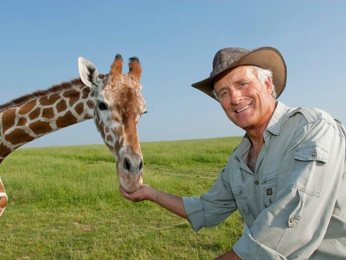 Jack Hanna will bring an assortment of animals share