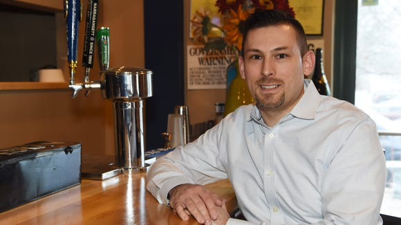 Michael Polasek, owner of Simply Gourmet in the Town
