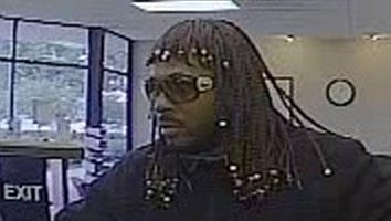 A man dressed like Rick James robbed a bank in Indiana last week.