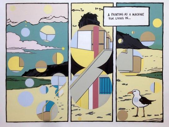 "Luis Alfonso Villalobos, ""A painting as a machine,"""