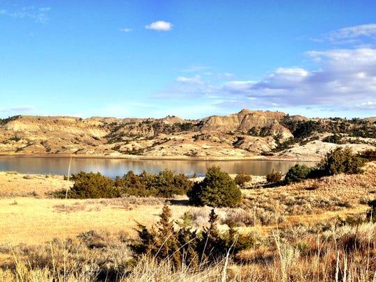 Hell Creek State Park is 24 miles of gravel road north of Jordan.