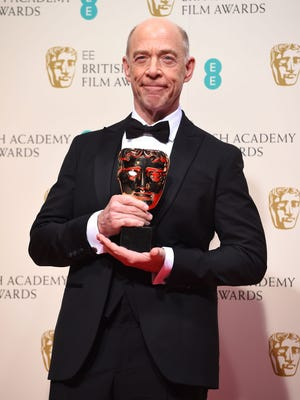 """Last weekend J.K. Simmons picked up the BAFTA award for best supporting actor for his role in """"Whiplash."""""""