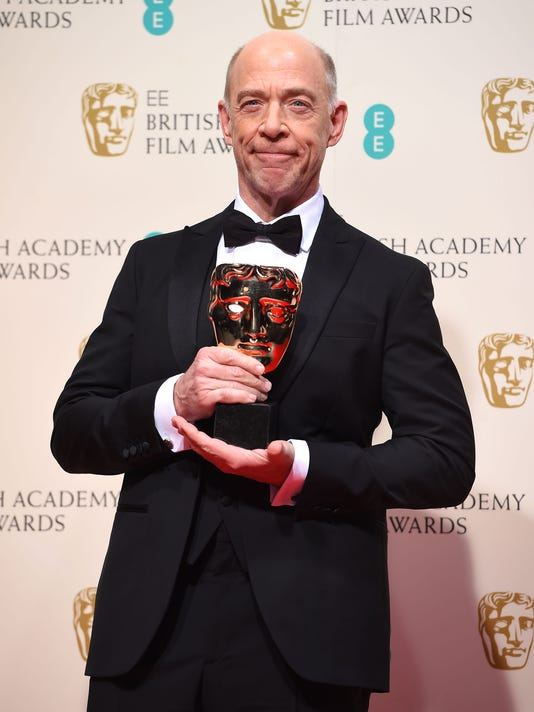 AP BRITAIN BAFTA 2015 WINNERS ROOM I ENT GBR