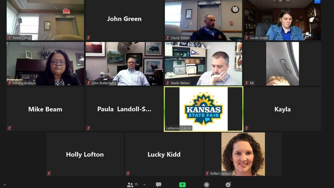 The Kansas State Fair Board met both in person and via Zoom on Friday, during what would have been the second weekend of the fair, and authorized tapping funds held at the Hutchinson Community foundation for operating cash if needed.