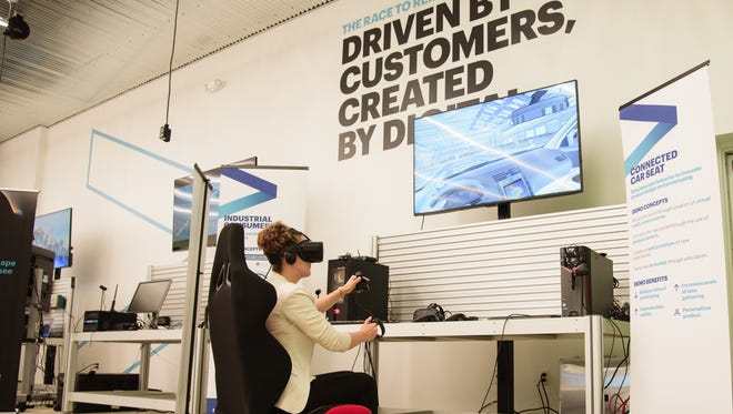 Accenture's new metro Detroit innovation hub provides companies resource to help them take advantage of digital resources.