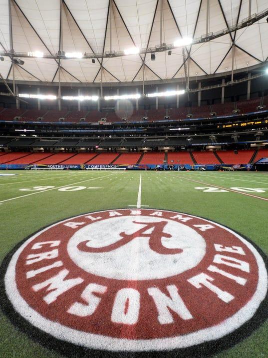 NCAA Football: SEC Championship-Team Practices
