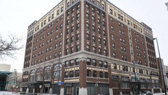 The former Hotel Northland at 304 N. Adams St. has been vacant since 2011.