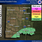 Wichita Falls on edge of marginal risk for severe weather Friday