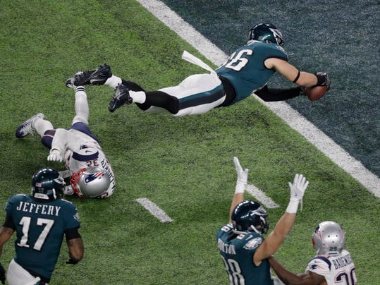 Image result for zach ertz super bowl