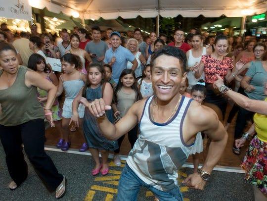 "Wilson ""El Bailarin"" Gutierrez, Latin dance instructor"