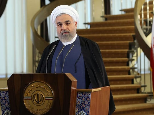 Iranian president Hassan Rowhani said Friday that he backs a newly reached nuclear agreement.