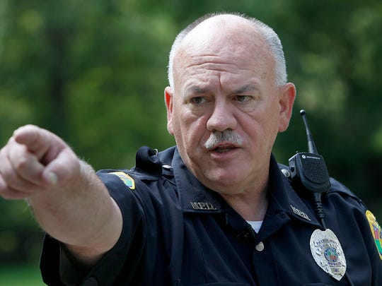 Retired and now reserve Muncie Police Department officer Terry Winters talks to The Star Press about the night in 1985 he discovered two teenagers shot to death in a car parked in Westside Park.