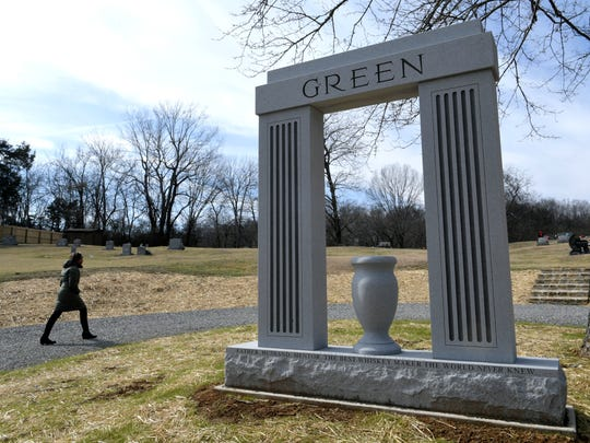 "In December, as part of the rededication of Highview Cemetery in Lynchburg, Tennessee, a new cemetery entrance was built and a towering stone memorial was erected for former slave Nathan ""Nearest"" Green."
