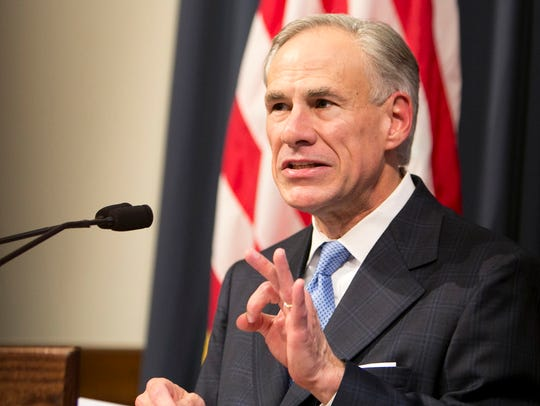 Gov. Greg Abbott calls for a special legislative session