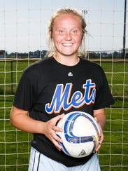 Silverton High School soccer player Maggie Roth at
