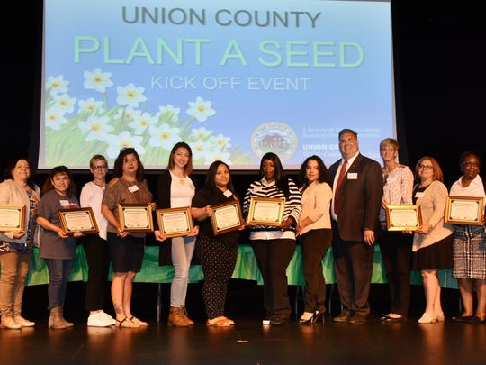 The Union County Board of Chosen Freeholders is pleased