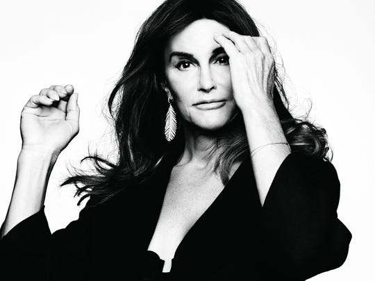 Caitlyn Jenner in 'Glamour'